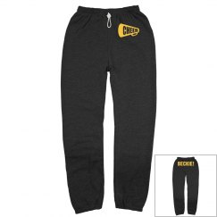 Cheer Sweatpants w/ Back