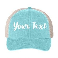 Custom Vintage Denim Hat