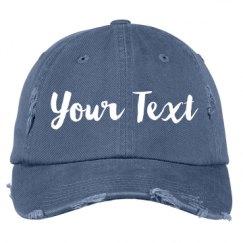 Distressed Baseball Hat