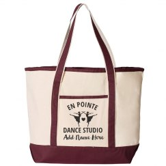 Custom Dance Studio Instructor Carry All