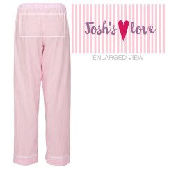Josh's Love Heart Pajamas