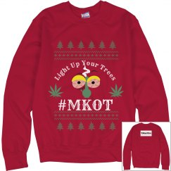 Light Up Your Trees Xmas Sweater