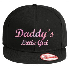 Daddy's Little Girl - Pink Glitter Hat