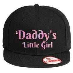 Daddy's Little Girl - Pink Glitter Hat