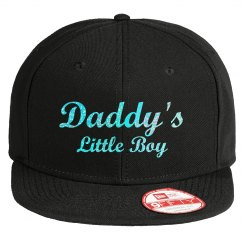 Daddy's Little Boy - Pink Glitter Hat