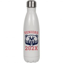 Custom Seniors 2018 Water Bottle