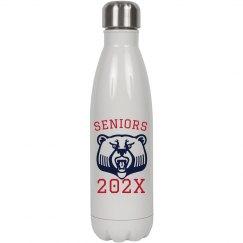 Custom Seniors 2021 Water Bottle