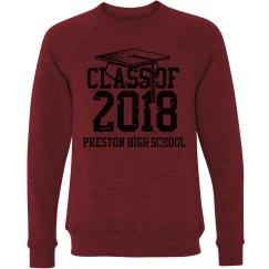 Preston Grad Sweat Shirt