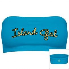 Island Gal bandeau