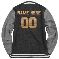 Custom Metallic Sports Name/Number
