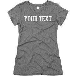 Grey Custom Shirt