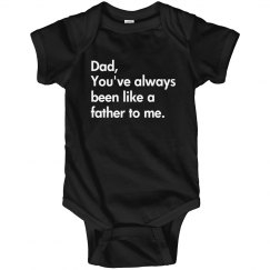 Funny Fathers Day Onesie