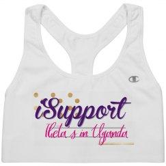 I support sports bra