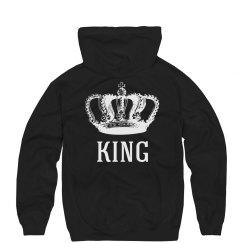 Vintage King & Queen Hoodies 1