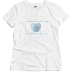 KBB White leave your imprint shirt