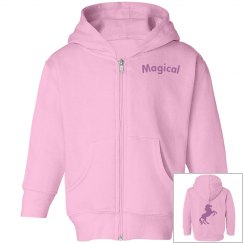 Magical Girls Zip up Hoodie