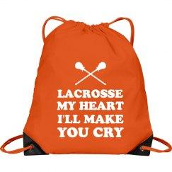 Funny Lacrosse I'll Make you Cry