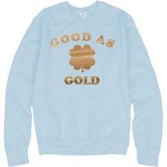 I'm As Good As Gold Metallic