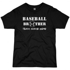Baseball Brother Custom Team Name