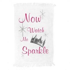 Now watch me sparkle