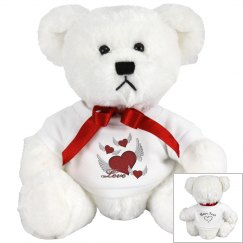Love Hearts Small Teddy