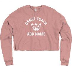 Custom Dance Coach Cropped Practice