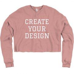 Create Your Cheerleader Crop Top