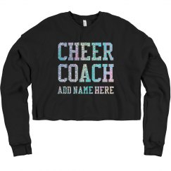 Cheer Coach Custom Practice Sweatshirt