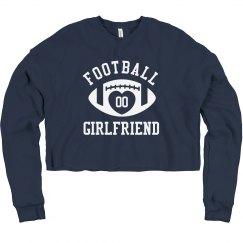 Football Girlfriend Custom Number
