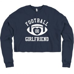 Football Girlfriend Custom Number