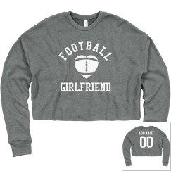 Custom Football Girlfriend Crop