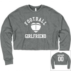 Custom Football Girlfriend Crop