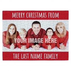 Merry Christmas Custom Photo Gift