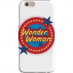 Wonder Woman Parody Phone Case