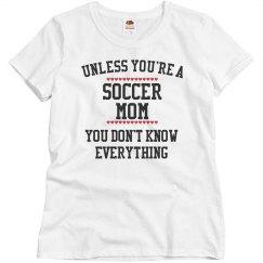 Soccer mom know all