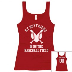 Custom Girlfriend Baseball Shirt