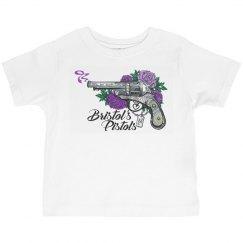 Bristol's Pistols, Toddler - Grey