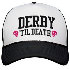 Roller Derby 'Til Death Hat