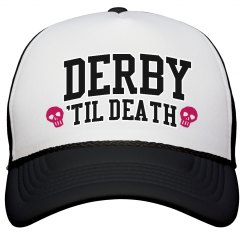 Roller Derby 'Til Death Hat