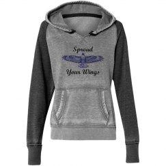 Spread Your Wings- Womens Sweatshirt