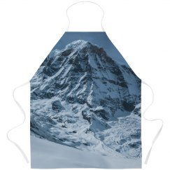 Snowy Mountain Peaks All Over Print