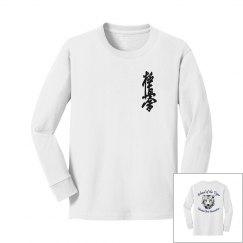 Youth Long Sleeve with Kanji and Logo