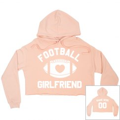 Cute Custom Football Girlfriend