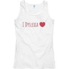 I Dyslexia Heart