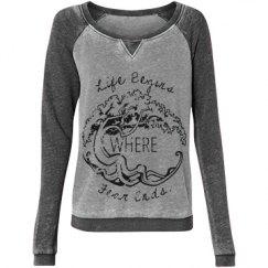 Reiki Life Begins Sweatshirt