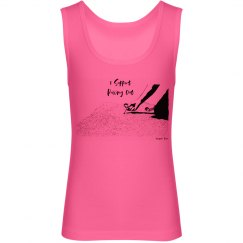 I Support Pulling Out - Youth - Jersey Neon Tank Top