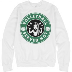 Hot Volleyball Sweatshirt