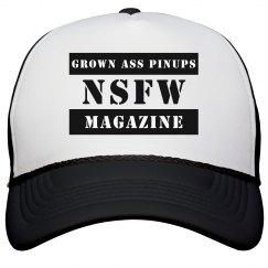 Grown Ass Pinups Magazine Snapback Hat