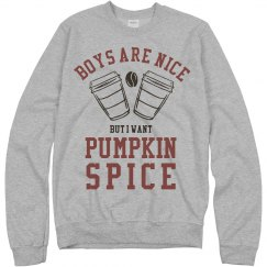 Pumpkin Spice Is Better Than Boys
