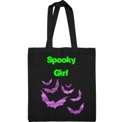 Spooky Girl Tote